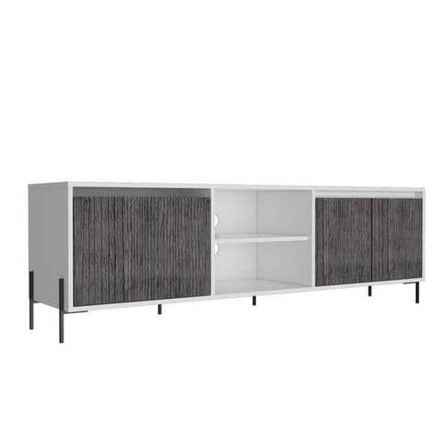 Dallas Ultra Wide TV Rack With 4 Doors