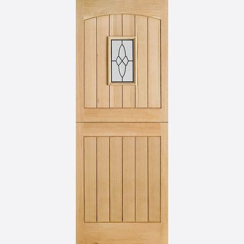 External Oak Cottage Stable Door I.G Lead Glazed