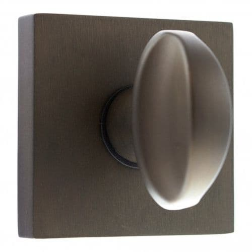 Forme WC Turn And Release On Square Rose In Urban Dark Bronze
