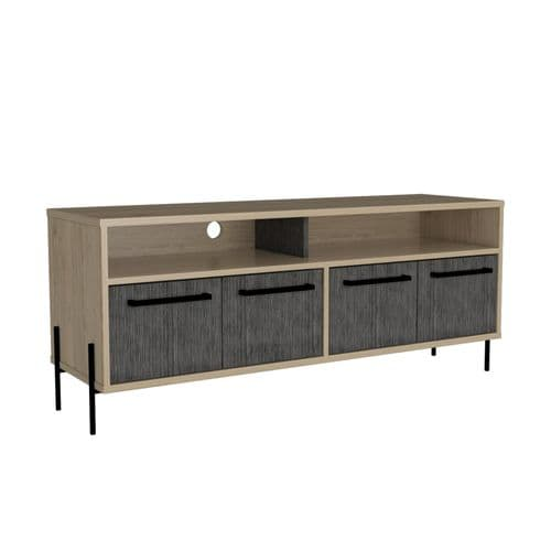 Harvard Wide Screen TV Rack With 4 Doors