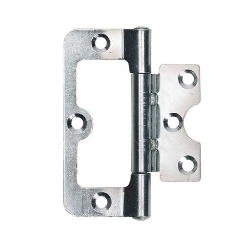 Intelligent Hardware Steel Loose Pin Fix Pin Hurl Hinge in Chrome Plated - 75mm x 49mm
