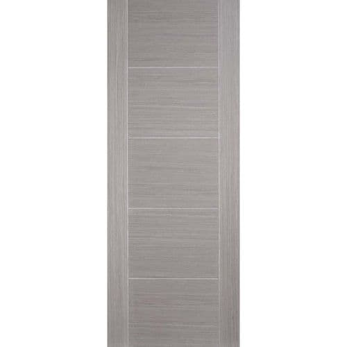 Internal Grey Vancouver Panelled Fire Door