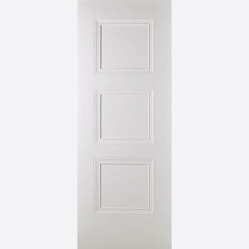 Internal Primed Plus White Amsterdam  Fire Rated Door