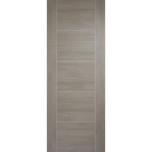 Internal Vancouver Light Grey Laminate Finish Half Hour Fire Rated Door