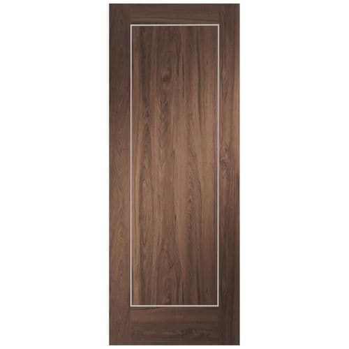 Internal Varese Walnut Fire Rated Door Pre-Finished