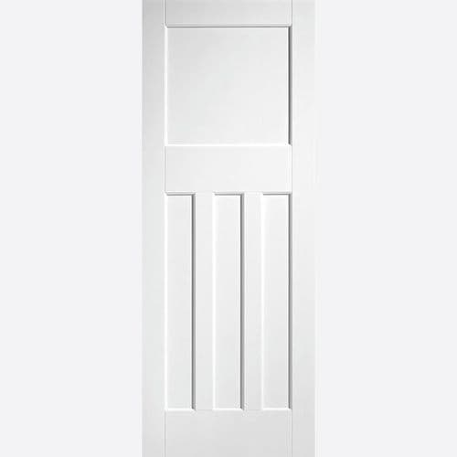 Internal White DX 30s Style Panelled Fire Door