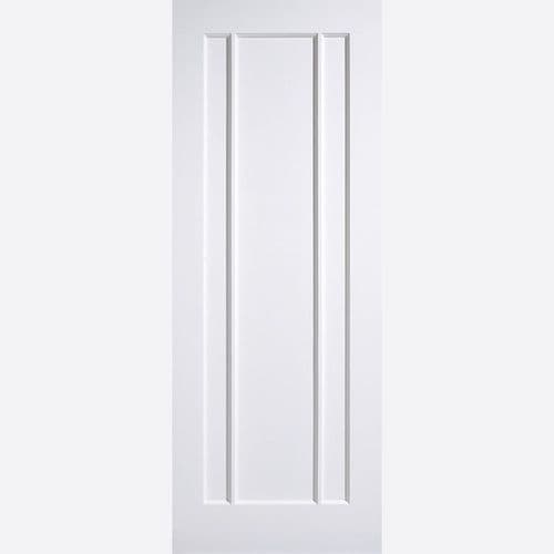 Internal White Lincoln Panelled Fire Rated Door