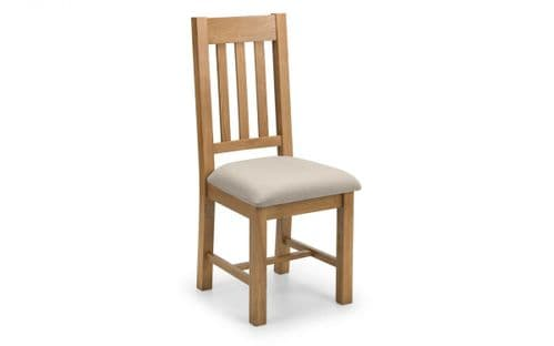 Julian Bowen Set of 2 Hereford Dining Chairs