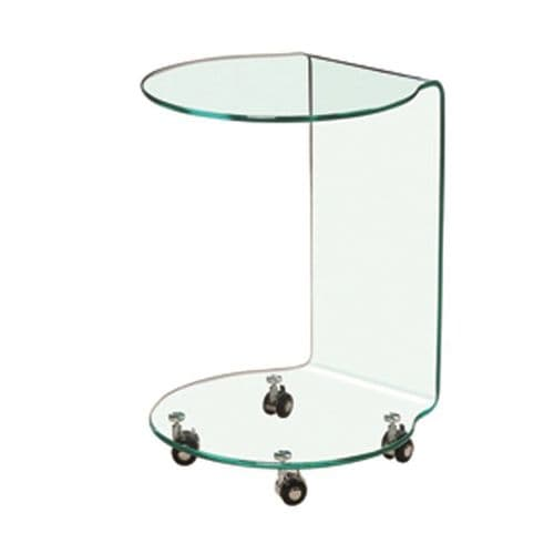 LPD Azurro Lamp Table Glass