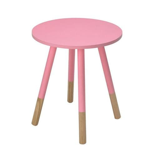 LPD Costa Side Table Pink