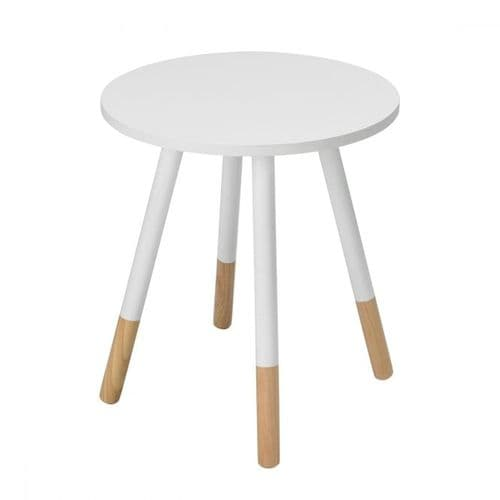 LPD Costa Side Table White