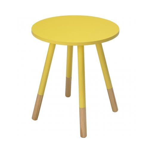 LPD Costa Side Table Yellow