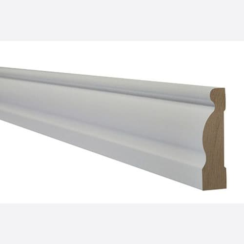 LPD White Primed Arhitrave Ogee 2200mmx70mm