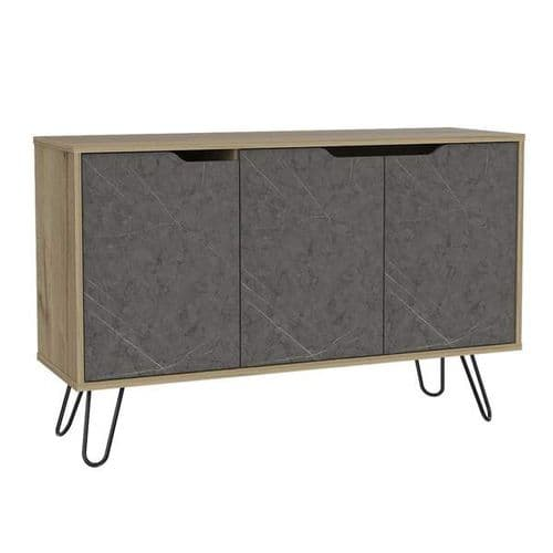 Manhattan Medium Sideboard With 3 Doors