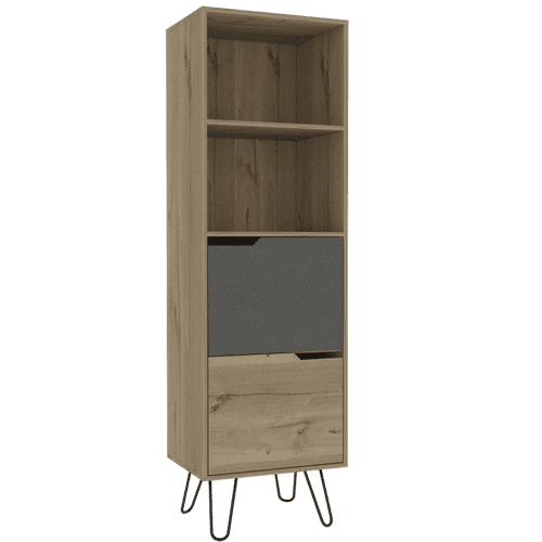 Manhattan Tall Bookcase With 2 Doors