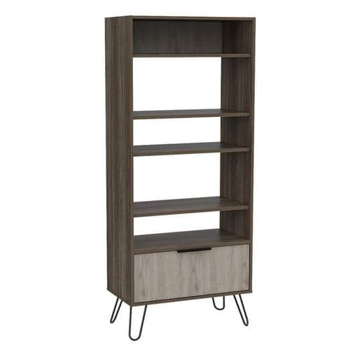 Nevada Display Bookcase With Door