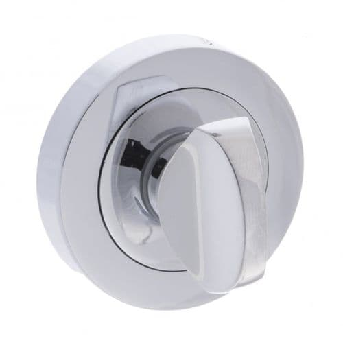 Status WC Turn And Release On Round Rose In Polished Chrome