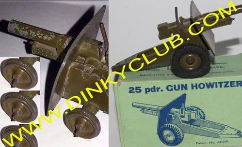 """ Britains Toys 2026 25 Pounder Field Gun on Rubber Tyres ""  Reproduction Tyre / Tire  [ Price is per tyre ]"