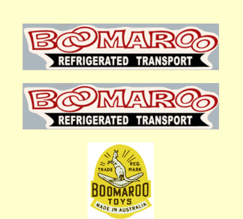 922  Boomaroo Toys Refrigerated Transport
