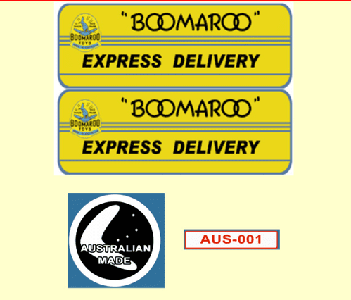 96 Boomaroo Toys Express Delivery