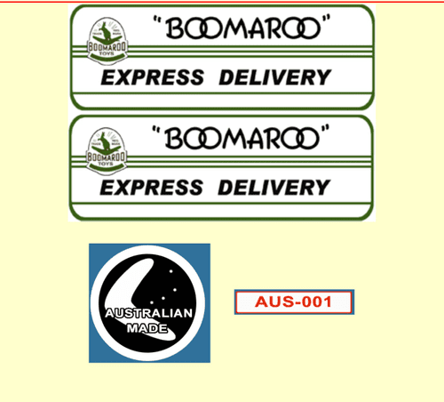 96A  Boomaroo Toys Express Delivery Green