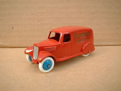 """A DINKY TOYS COPY MODEL 28 SERIES TYPE 2 DELIVERY VAN """"CRAWFORDS BISCUITS"""""""