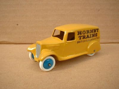 """A DINKY TOYS COPY MODEL 28 SERIES TYPE 2 DELIVERY VAN """"HORNBY TRAINS"""""""