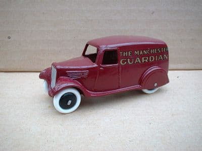 """A DINKY TOYS COPY MODEL 28 SERIES TYPE 2 DELIVERY VAN """"MANCHESTER GAURDIAN"""""""