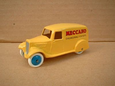 """A DINKY TOYS COPY MODEL 28 SERIES TYPE 2 DELIVERY VAN """"MECCANO ENGINEERING FOR BOYS"""""""