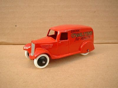 """A DINKY TOYS COPY MODEL 28 SERIES TYPE 2 DELIVERY VAN """"OVALTINE"""""""