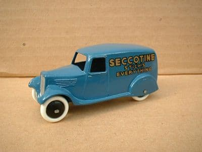 """A DINKY TOYS COPY MODEL 28 SERIES TYPE 2 DELIVERY VAN """"SECCOTINE"""""""