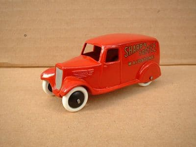 """A DINKY TOYS COPY MODEL 28 SERIES TYPE 2 DELIVERY VAN """"SHARPS TOFFEE"""""""