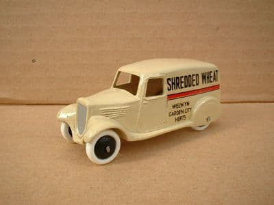 """A DINKY TOYS COPY MODEL 28 SERIES TYPE 2 DELIVERY VAN """"SHREDDED WHEAT"""""""
