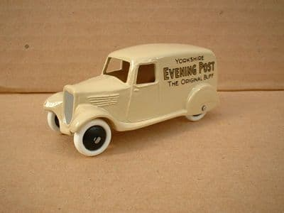 """A DINKY TOYS COPY MODEL 28 SERIES TYPE 2 DELIVERY VAN """"YORKSHIRE EVENING POST"""""""