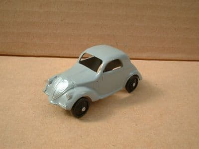 A DINKY TOYS COPY MODEL 35A SIMCA 5 [ FIAT TOPOLINO ] GREY