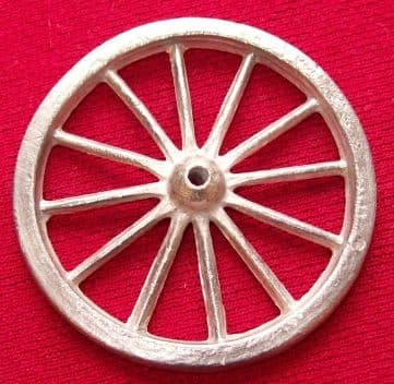 CHARBENS REPLICA GYPSY CARAVAN (The Caravans - rear spoked wheel - Price Each)