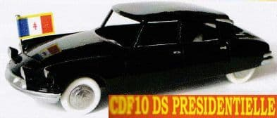 CLUB DINKY FRANCE MODEL No. CDF10 DS PRESIDENTIELLE