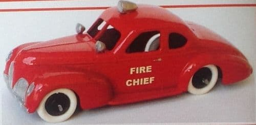 CLUB DINKY FRANCE MODEL No. CDF4 STUDEBAKER CHEF DES POMPIERS
