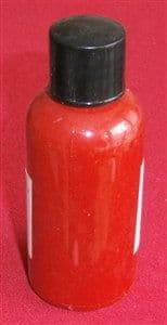 """Computer Matched 50ml Bottle of """"Deep Red"""" brush paint for Dinky Toys 250 Fire Engine"""