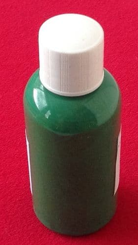 """Computer Matched 50ml Bottle of """"Grass Green"""" brush paint for Dinky Toys 30P / 441 Tanker """"CASTROL"""""""