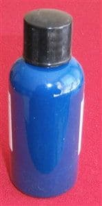 """Computer Matched 50ml Bottle of """"Midnight Blue"""" brush paint for Dinky Toys 40A Riley Saloon"""