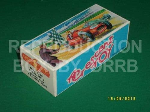 Crescent #1285 B.R.M. Mk.2 G.P. Racing Car - Reproduction Box
