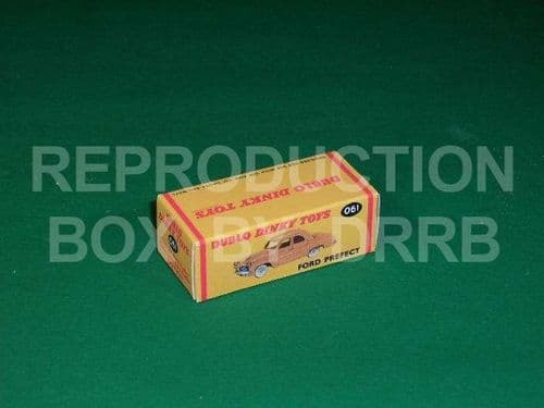 Dinky # 061 Dublo Dinky - Ford Prefect - Reproduction Box
