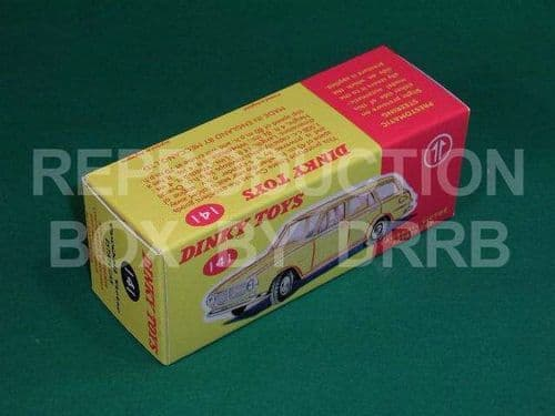 Dinky #141 Vauxhall Victor Estate - Reproduction Box