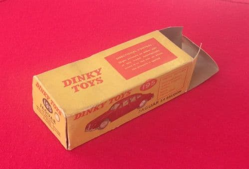 Dinky #195 Jaguar 3.4 Saloon - Original Box