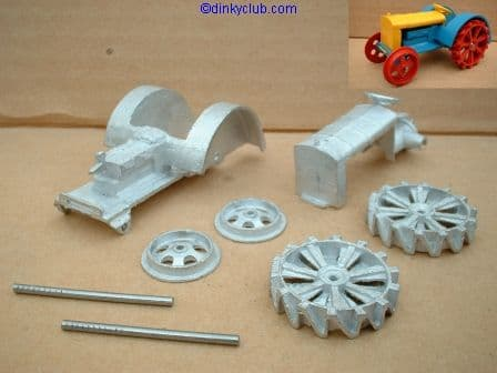 Dinky Toys copy model 22E Farm Tractor in kit form