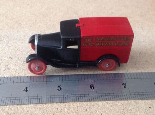 """Dinky Toys copy model 28 Series Type 1 Delivery Van """"Manchester Guardian"""""""