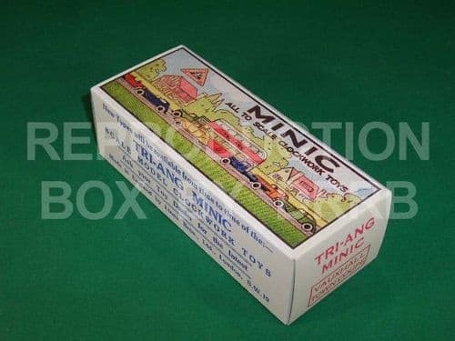 Minic #18M Vauxhall Town Coupe - Reproduction Box