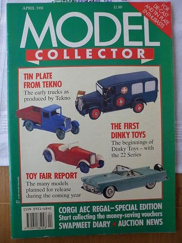 ORIGINAL MODEL COLLECTOR MAGAZINE April 1991