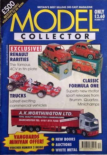ORIGINAL MODEL COLLECTOR MAGAZINE December 1997